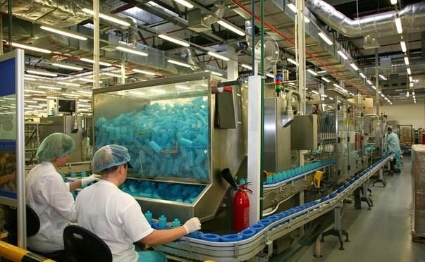 производство на заводе Avon