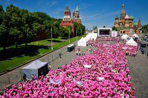марш Эйвон розовая ленточка в Москве