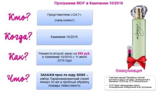 повторный заказ Avon в каталоге 10-2016