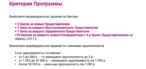 условия программы для координаторов на гребне волны 11- 12/2016
