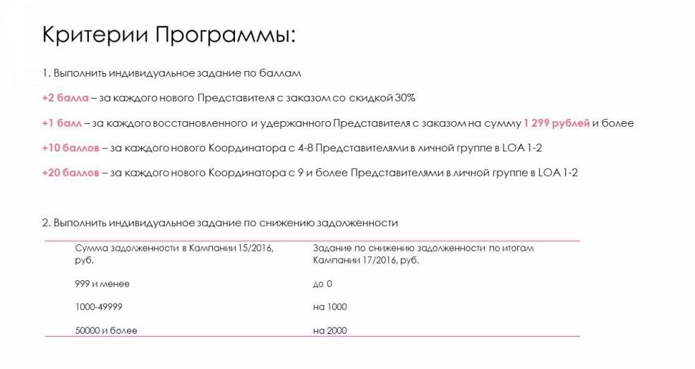 критерии программы зимний форсаж 16-17/2016