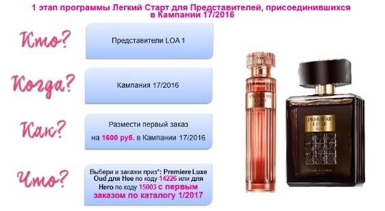 подарок новичкам эйвон 17 каталог 2016