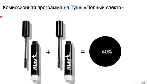 """скидка 40% на тушь """"Полный спектр"""" Эйвон"""