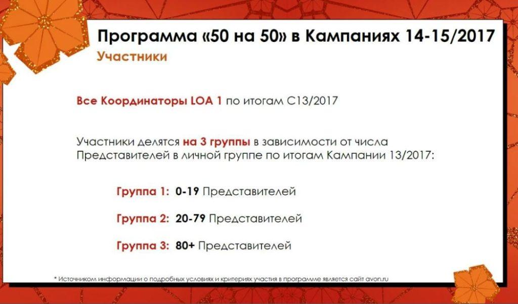 Программа для координаторов Avon14-15 каталог 2017-4